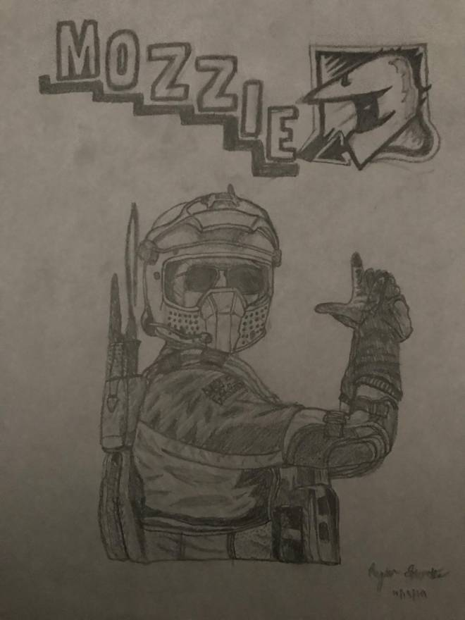 Rainbow Six: Art - Now im sh*t posting about my drawings image 1
