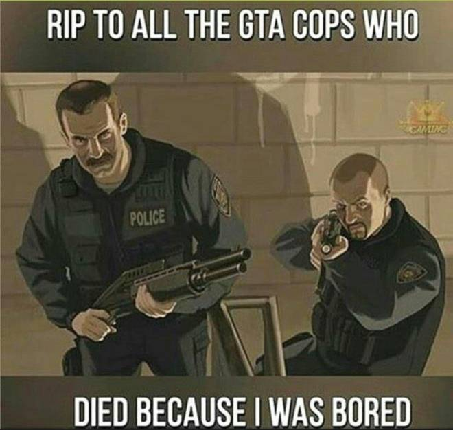 GTA: Memes - 🤧WHO ELSE DOES THIS? image 1