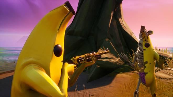 Fortnite: Battle Royale - ZomB-Nana: Peely Bone Showcase w/ Spacey! image 5