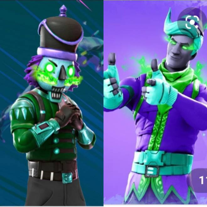 Fortnite: Battle Royale - Which one?❄️🔥 image 1