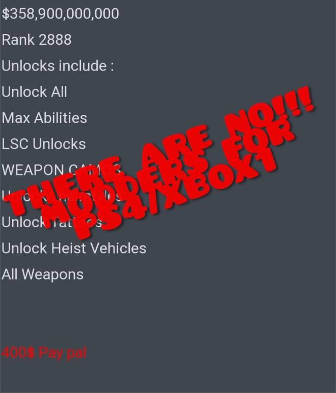 GTA: General - DO NOT BUY ANY ACCOUNTS  image 2