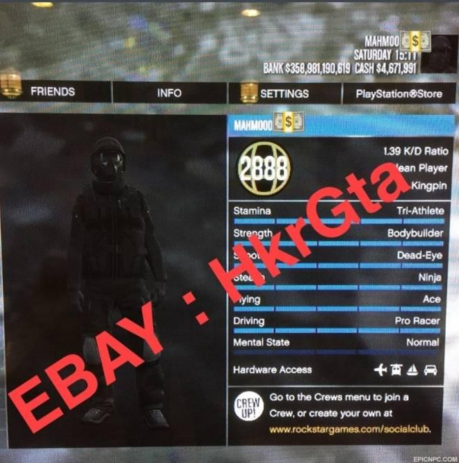 GTA: General - DO NOT BUY ANY ACCOUNTS  image 3