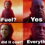 The price GFuel lovers pay...