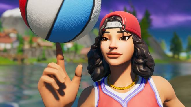 Fortnite: Battle Royale - Shoot ya shot 🏀✨ (Triple Threat Showcase)  image 3