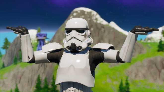 Fortnite: Battle Royale - Storm Trooper Showcase 💜✨ image 1