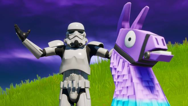 Fortnite: Battle Royale - Storm Trooper Showcase 💜✨ image 9