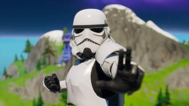 Fortnite: Battle Royale - Storm Trooper Showcase 💜✨ image 3