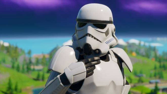 Fortnite: Battle Royale - Storm Trooper Showcase 💜✨ image 5