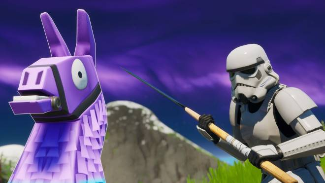 Fortnite: Battle Royale - Storm Trooper Showcase 💜✨ image 7