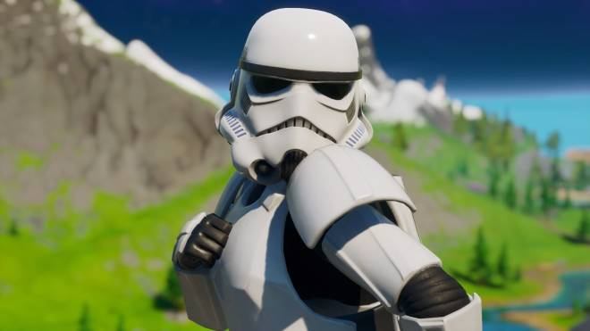 Fortnite: Battle Royale - Storm Trooper Showcase 💜✨ image 8