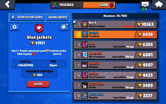 Brawl Stars: Club Recruiting - We are growing plz join Lol image 1
