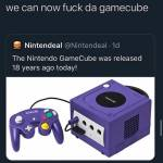 The Game Cube is 18 years old now. You know what that means!