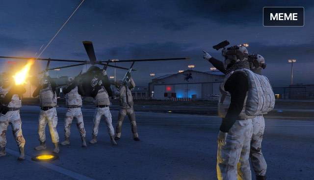 GTA: Looking for Group - BTSD Military crew is now open with 4 branches Air force marine medivac and Reserve team, message image 3