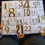 My Christmas Advent calendar! #1 and #2