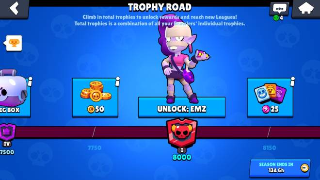 Brawl Stars: General - Time to push up trophies  image 2