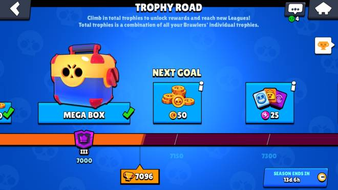Brawl Stars: General - Time to push up trophies  image 1