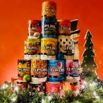 i made a tree out of gfuel tubs
