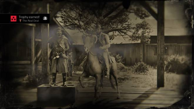 Red Dead Redemption: General - The Real Deal - Just earned the hardest trophy in the game (IMO) feeling good about it! image 1