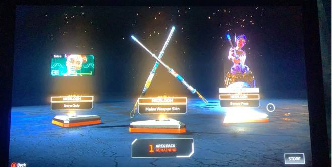 Apex Legends: General - Only bought 2 apex pack and first pack was lucky 😁 image 1