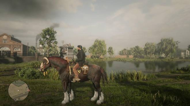 Red Dead Redemption: General - War Horse & Player Outfit Theme image 1