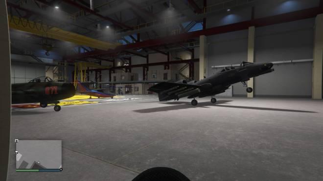 GTA: General - Wheelie in the hanger image 1
