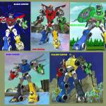 If you watched this version of voltron that could do, do you wish it was in the latest version?