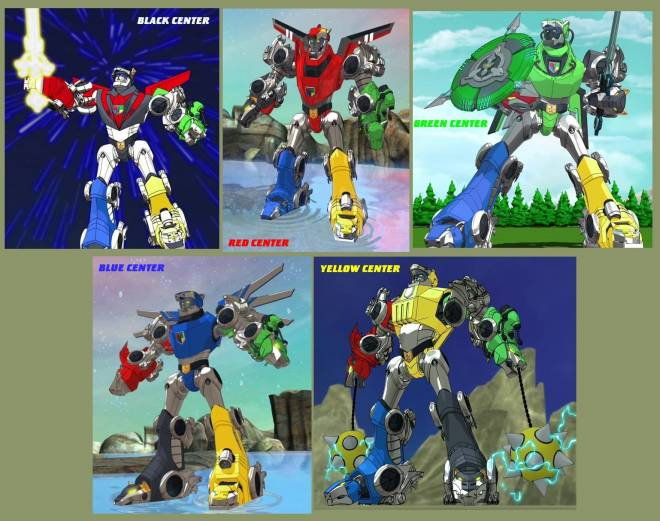 Entertainment: Animations - If you watched this version of voltron that could do, do you wish it was in the latest version? image 2