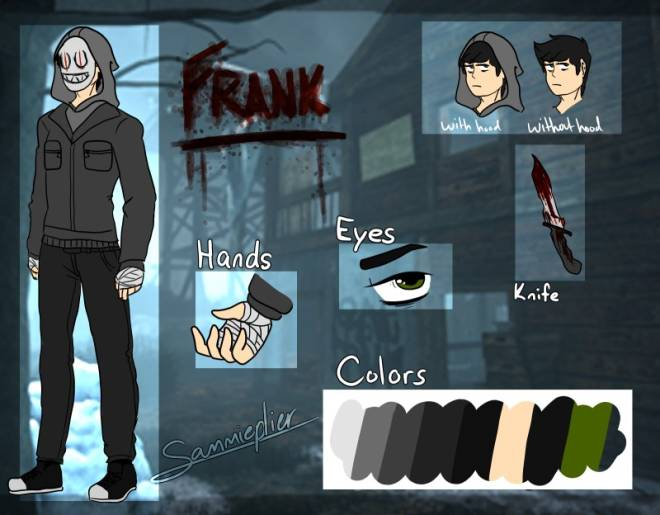Dead by Daylight: General - Frank Morrison (The Legion) Reference Sheet image 1