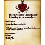 La Provenzano Family Recruitment
