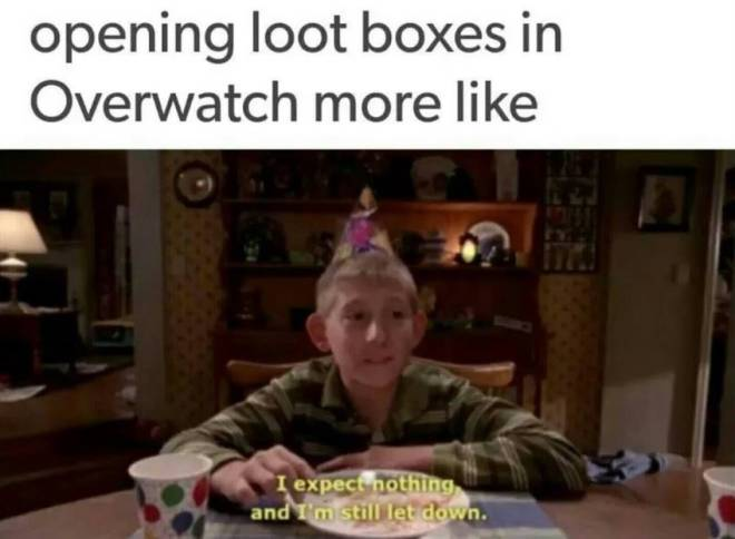 Overwatch: Memes - When you play too long and have the majority of stuff.  image 1