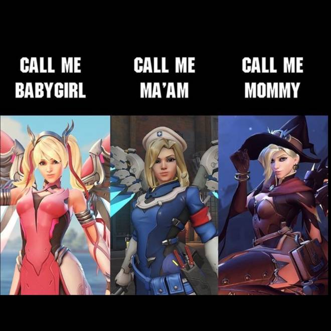 Overwatch: Memes - The wonderful Mercy! image 1