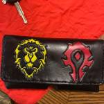 A Inmate at the prison I work at made me a World of Warcraft phone case for my belt from hobby craft