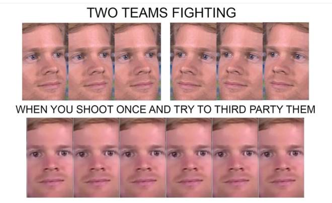 Apex Legends: Memes - EVERYTIME, it's usually a random teammate who shoots though :( image 1