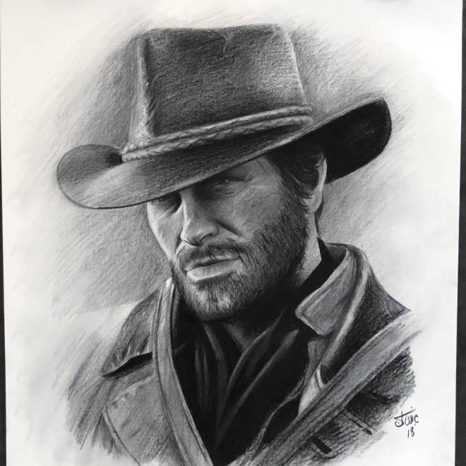 Red Dead Redemption: General - Has anyone drawn a game case for the game? (Colored or not!) image 2