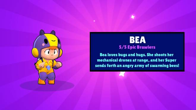Brawl Stars: General - I opened my first box of the day and got Bea!!!! image 1