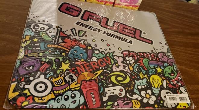 G Fuel: General - This GFUEL SteelSeries Mousepad is HUGE!!! image 1