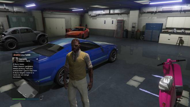GTA: General - Rest in piece to my blue car image 1