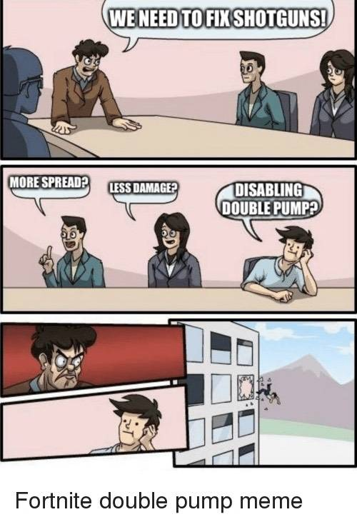 Fortnite: Memes - how we all wish the season 5 discussion went 😭🥱 image 1