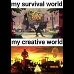 Survival vs Creative