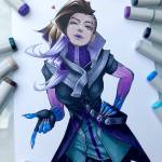 Just some sombra art I found