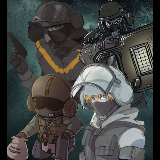 Rainbow Six: Art - Stuff i did image 1