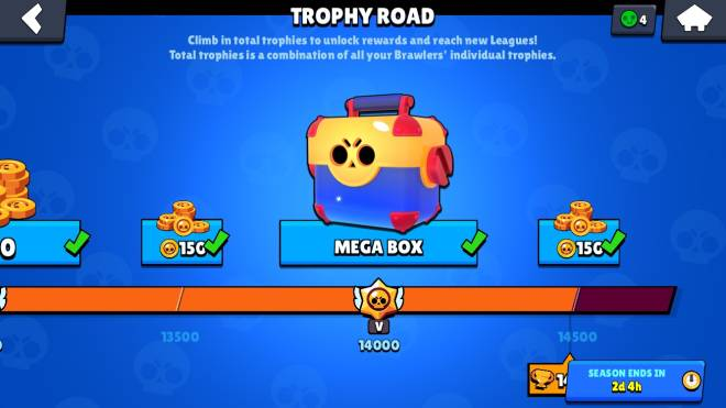 Brawl Stars: General - Got my last trophy reward image 1