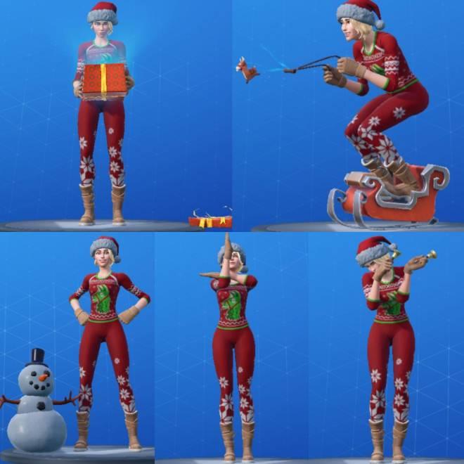 Fortnite: Battle Royale - Christmas Haul 2019! 🎄 image 12