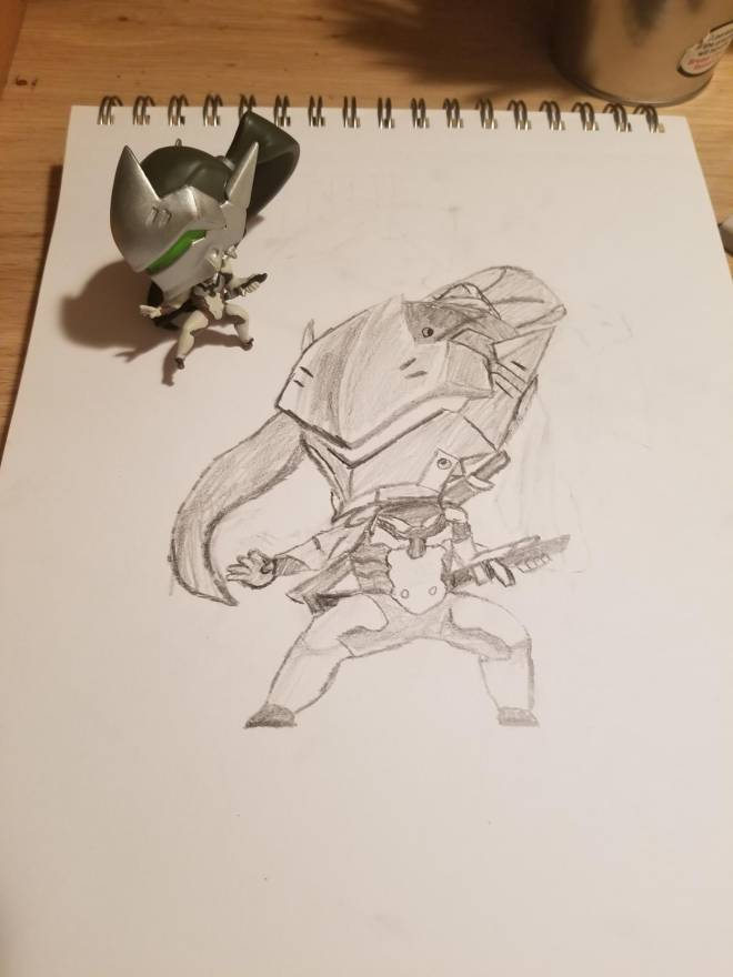 Overwatch: General - My second overwatch drawing! image 3