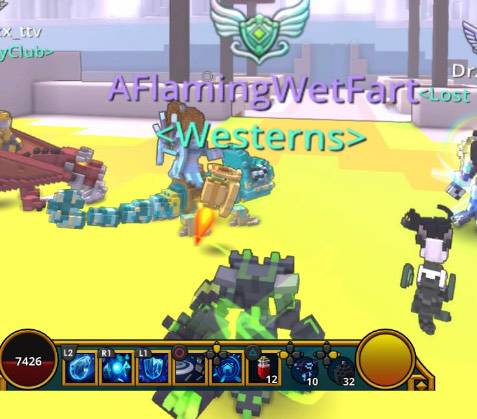 Trove: General - This guys psn name 😂😂 but why tho  image 1