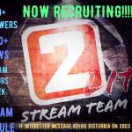 NOW RECRUITING!!!!!