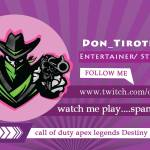 follow me www.twitch.tv/don_tiroteo
