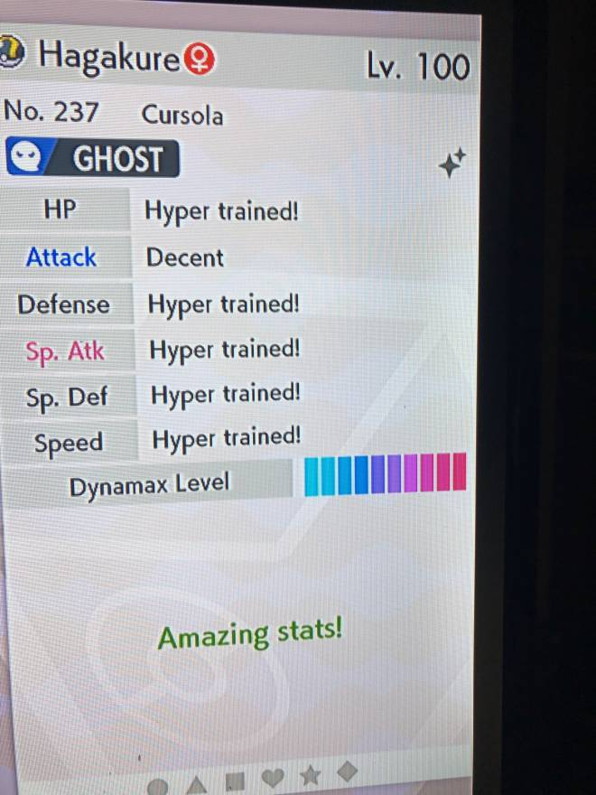 Pokemon: Trading - Ability-Weak armor  Looking for Shield exclusive Gmax mons or HA Galar corsola/Cursola image 3