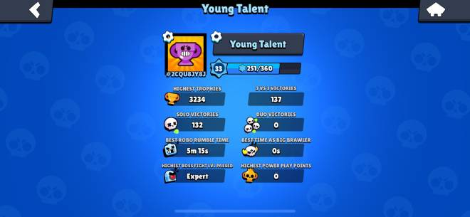Brawl Stars: Club Recruiting - Looking for 3000 and up player who knows how to play image 1