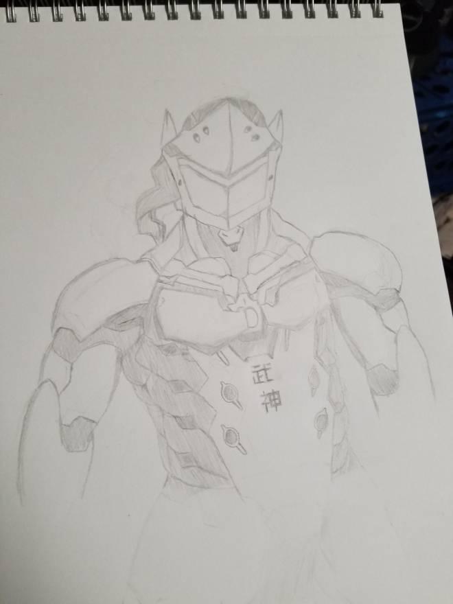 Overwatch: General - My more realistic Genji art! image 3